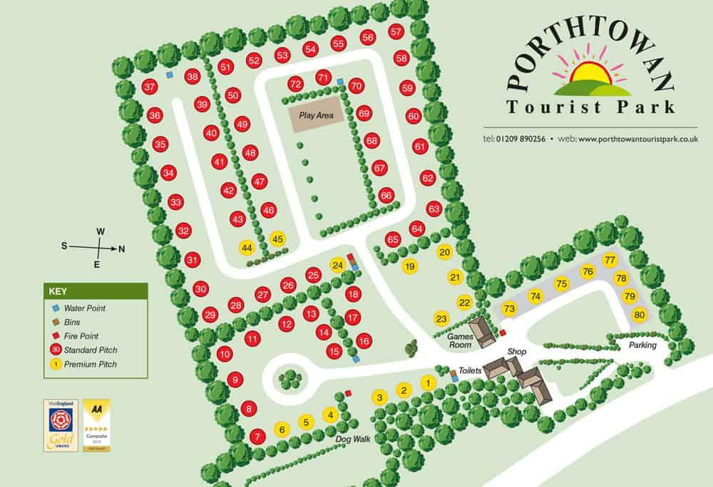 Porthtowan-campsite-map