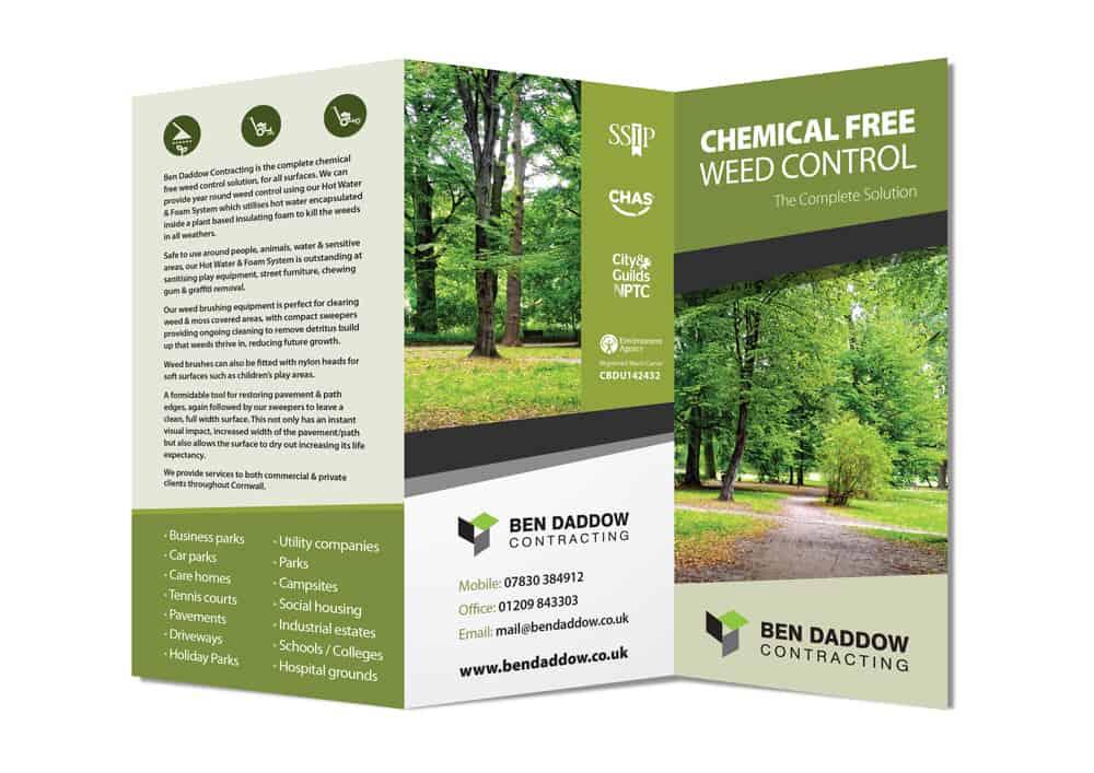 Ben Daddow - Leaflet