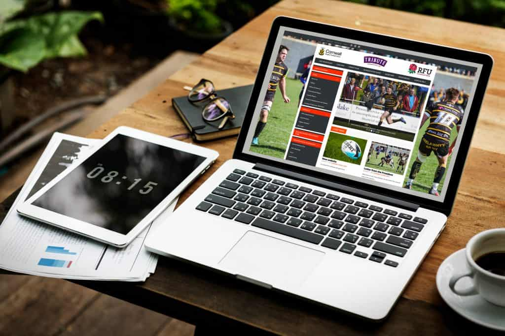 Cornwall Rugby Football Union website