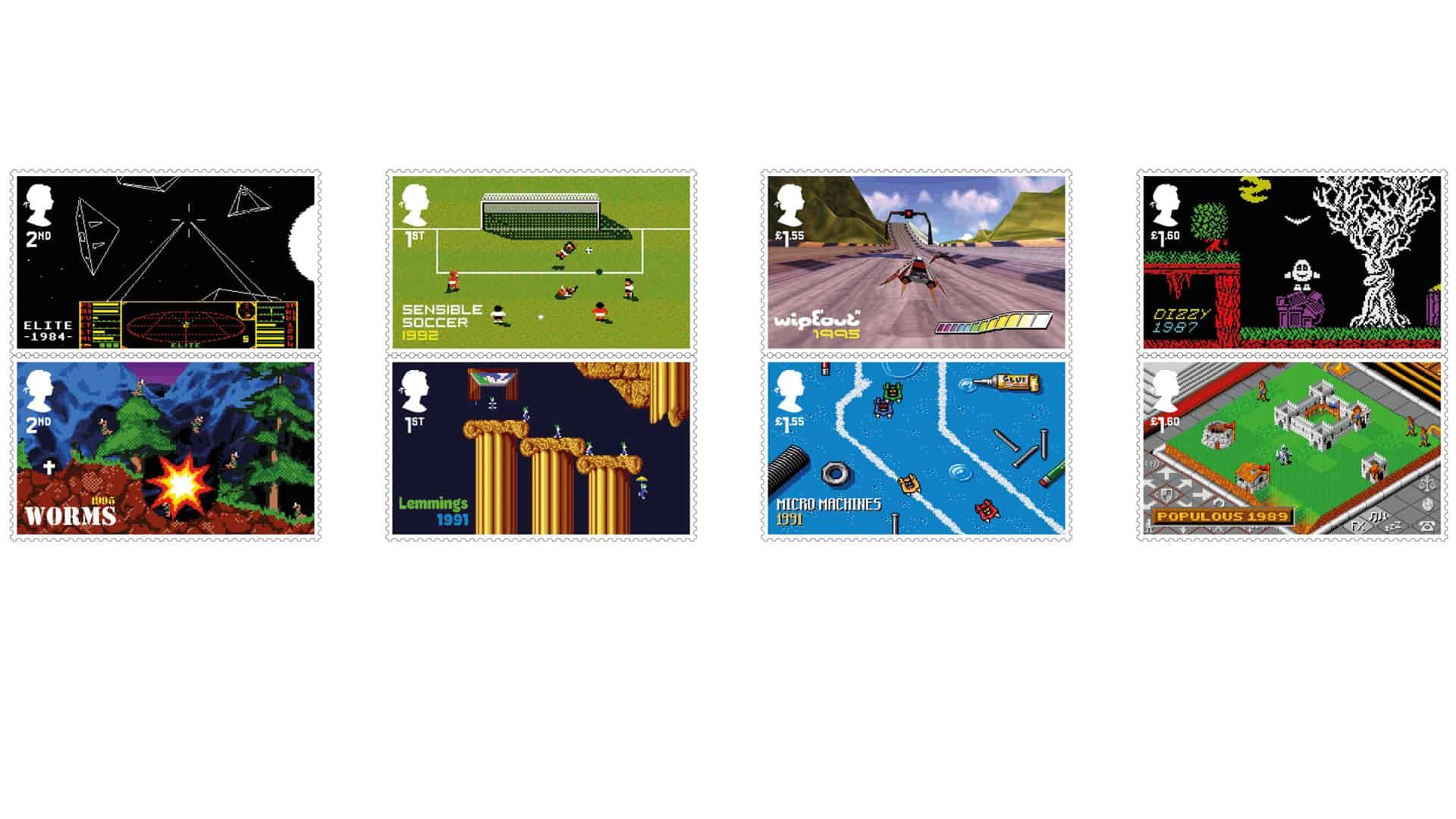 Royal Mail unveils stamp collection celebrating UK's contribution to gaming