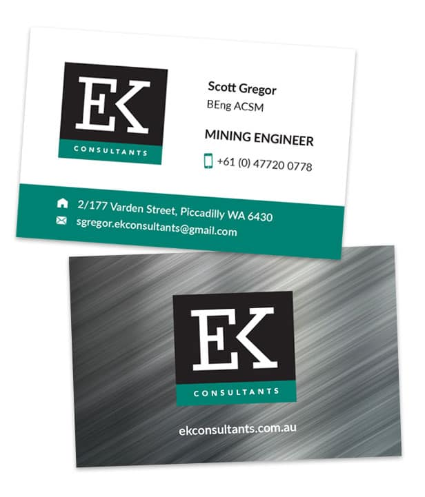 EK Business Cards