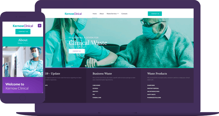 Kernow Clinical Waste Ltd – Website goes live